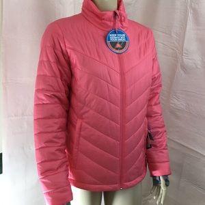 Columbia Large Morning Light Jacket Omni-heat NWT